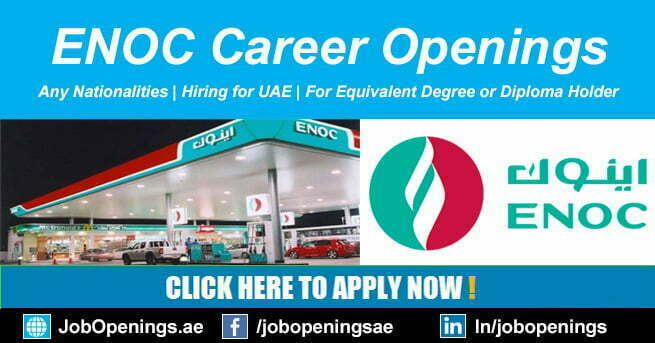 ENOC Careers 2021 Oil Company Jobs in Dubai