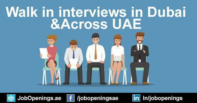 How to Find Walk in interview in Dubai and Across UAE